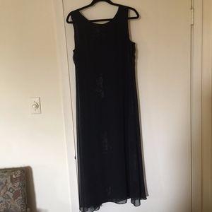 Black Carole Little Maxi Dress